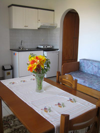 Photo of  Mochlos Mare apartment, kitchen