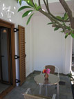 Photo of Mochlos Mare apartment, terrace opposite